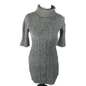 Old Navy Half Sleeve Knit Sweater Dress Medium